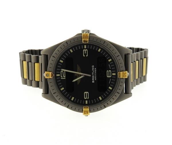 Breitling Navitimer Titanium Digital Aerospace Watch