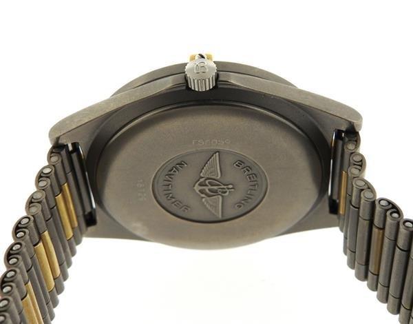 Breitling Navitimer Titanium Digital Aerospace Watch - 3