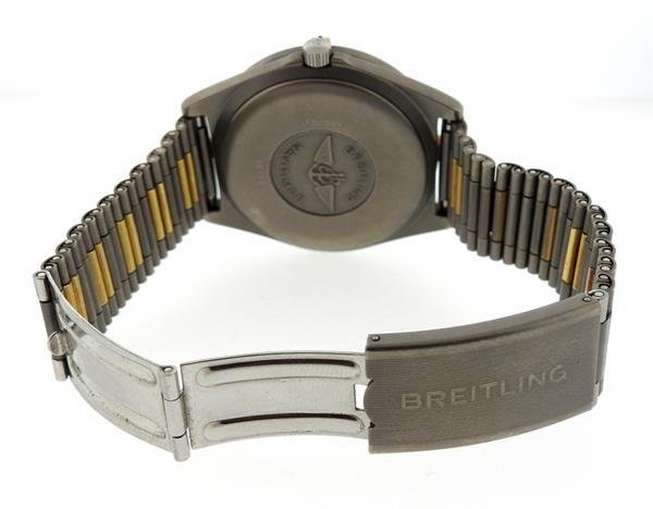 Breitling Navitimer Titanium Digital Aerospace Watch - 4