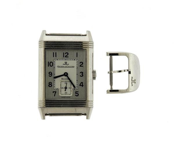 Jaeger LeCoultre Reverso Stainless Steel Watch 270.8.62
