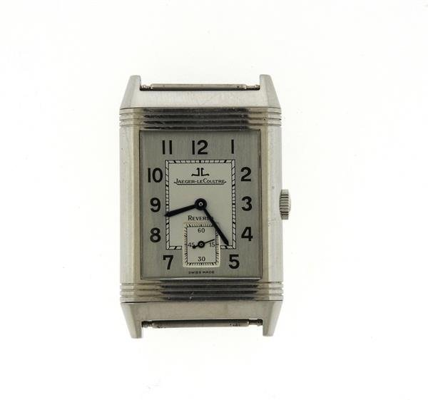 Jaeger LeCoultre Reverso Stainless Steel Watch 270.8.62 - 2