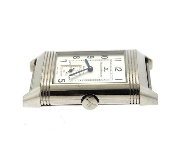 Jaeger LeCoultre Reverso Stainless Steel Watch 270.8.62 - 3