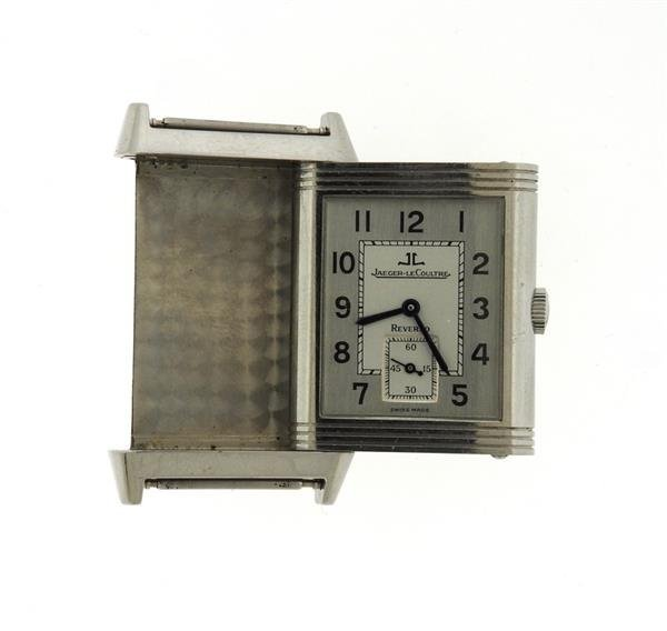Jaeger LeCoultre Reverso Stainless Steel Watch 270.8.62 - 5