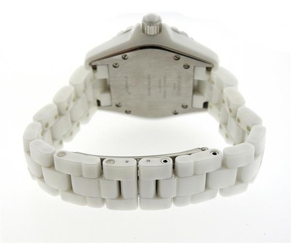 Chanel J12 White Ceramic Diamond Watch - 2