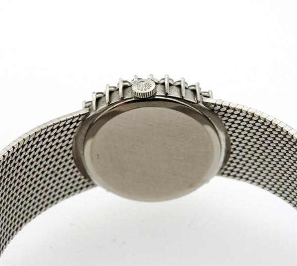 Rolex Cellini 18k Gold Diamond Lady's Watch - 3