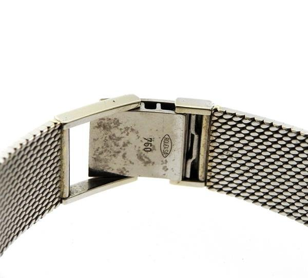 Rolex Cellini 18k Gold Diamond Lady's Watch - 4