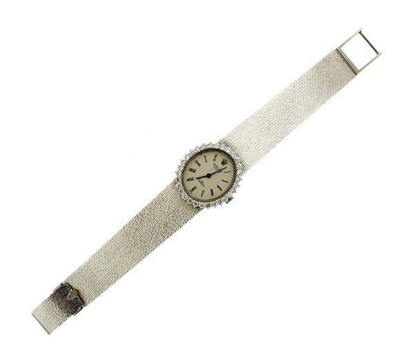 Rolex Cellini 18k Gold Diamond Lady's Watch - 5