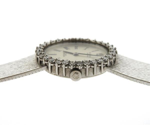 Rolex Cellini 18k Gold Diamond Lady's Watch - 6