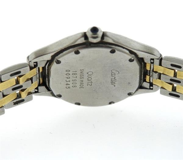 Cartier Cougar Two Tone Gold Steel Watch - 3