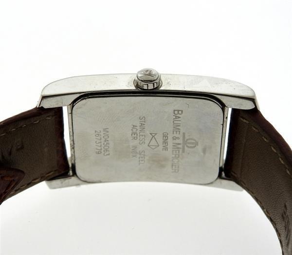 Baume & Mercier Acier Inox Steel Watch MV045063 - 3