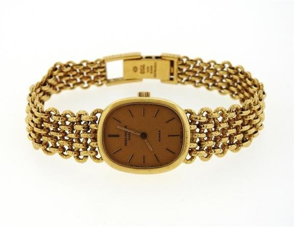 Patek Philippe Ellipse Lady  18k Gold  Watch Ref 4464