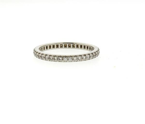 Tiffany & Co Platinum Diamond Eternity Band Ring