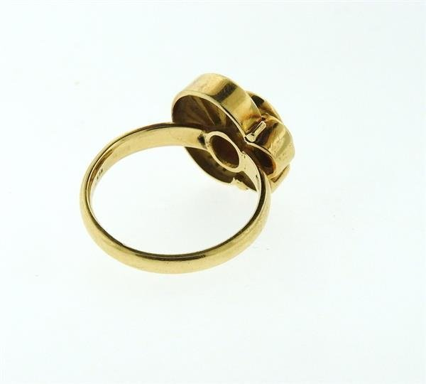 14K Gold Citrine Ring - 4