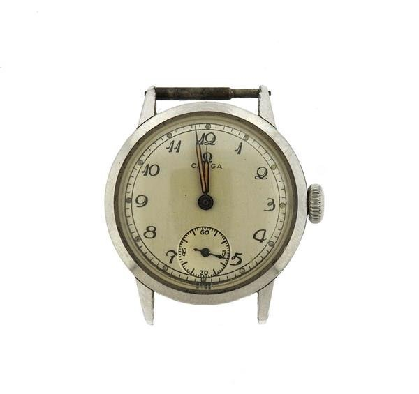Rare 1936 Vintage Omega Stainless Watch