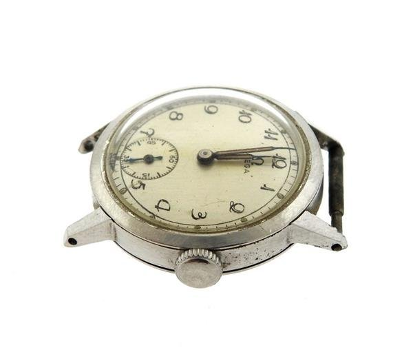 Rare 1936 Vintage Omega Stainless Watch - 4