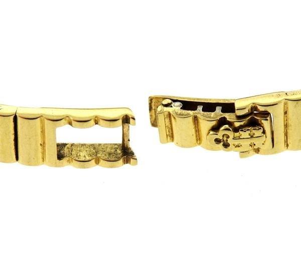 Corum 18k Gold 24k Gold Dial Diamond Lady's Watch - 7
