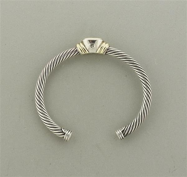 David Yurman Noblesse 14K Gold Sterling Peridot Cable - 4
