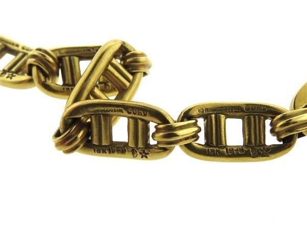 1970s Kieselstein Cord 18K Gold Tourmaline Pendant - 5