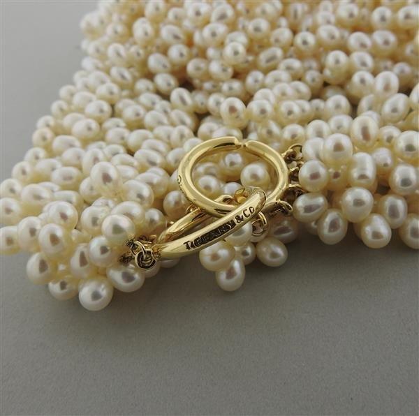 Tiffany & Co. Picasso 18k Gold Pearl Torsade Multi - 2