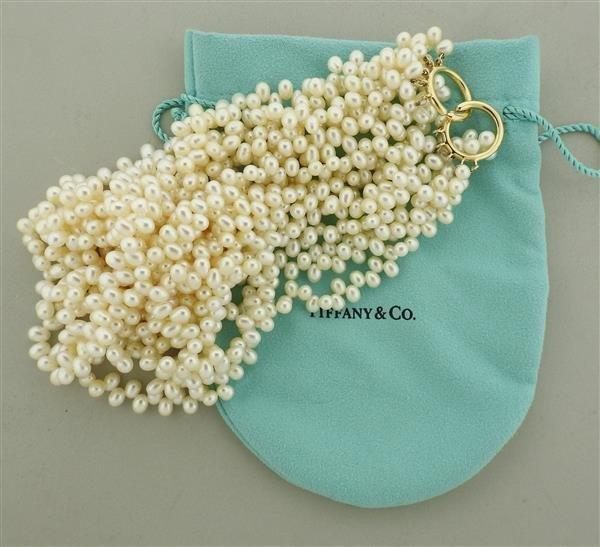 Tiffany & Co. Picasso 18k Gold Pearl Torsade Multi - 4