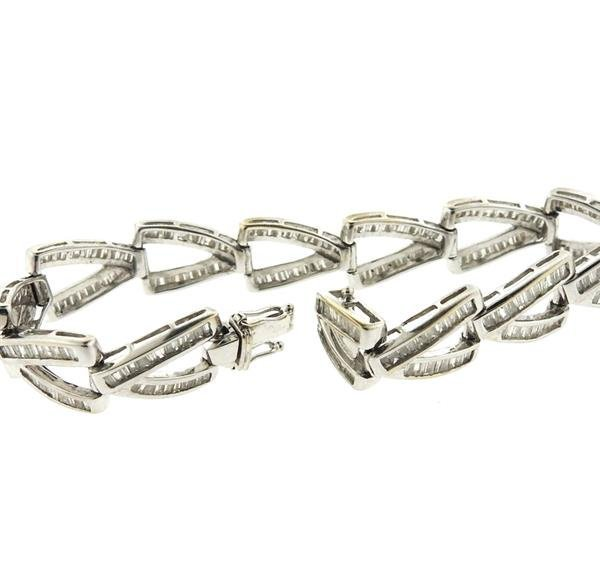 18k Gold Diamond Bracelet - 4