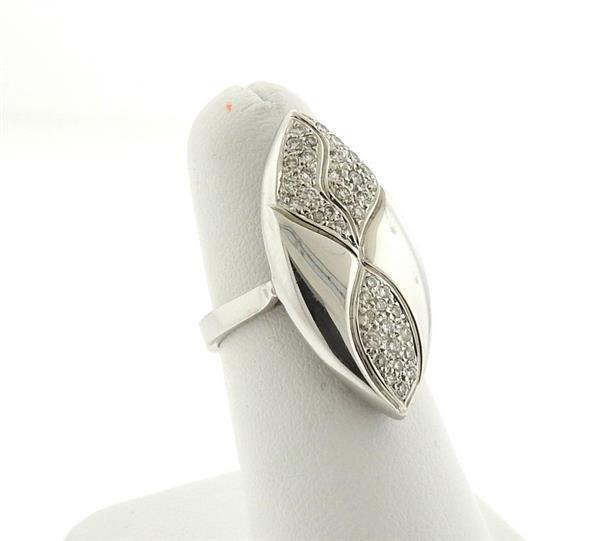 Tenthio 18k Gold Diamond Ring - 2