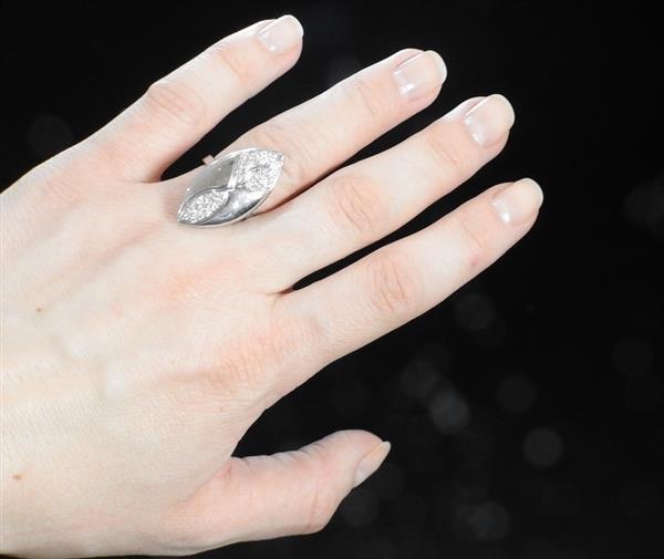 Tenthio 18k Gold Diamond Ring - 4