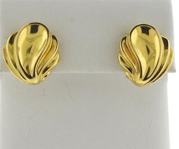 Tiffany & Co 18k Gold Earrings