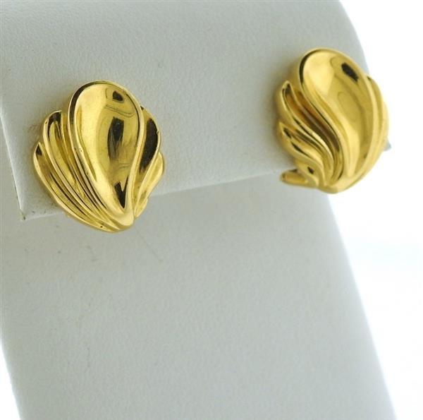 Tiffany & Co 18k Gold Earrings - 2