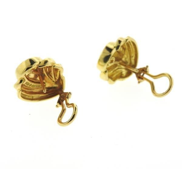 Tiffany & Co 18k Gold Earrings - 3