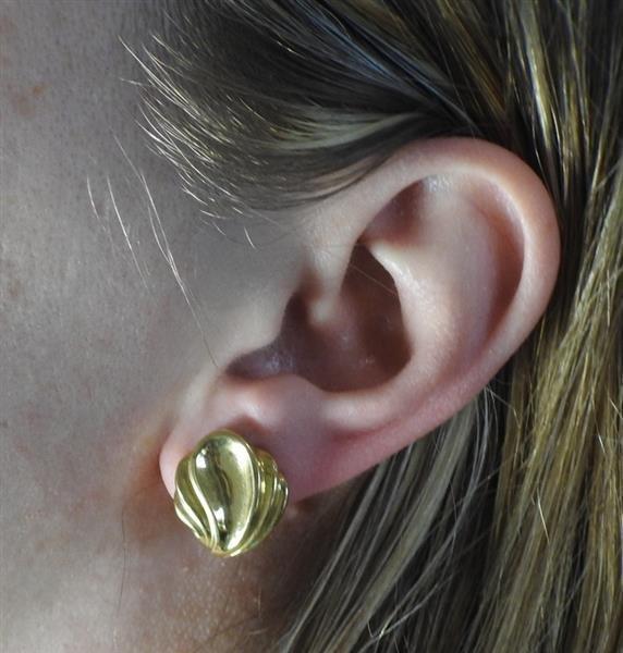 Tiffany & Co 18k Gold Earrings - 5