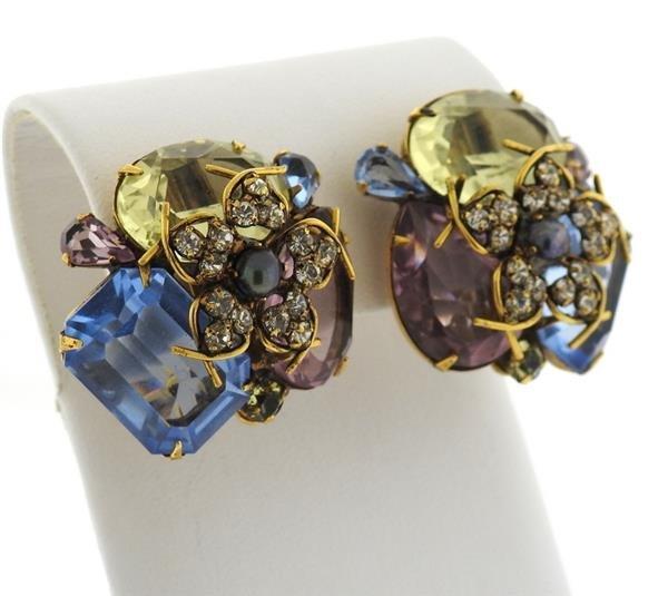Iradj Moini Multi Color Gemstone Earrings - 3