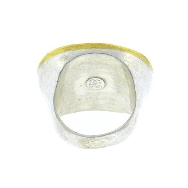 Gurhan 24K Gold Sterling Silver Paua Shell Dome Ring - 3