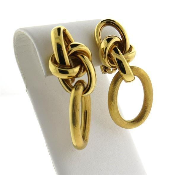 David Yurman Large 14K Gold Sterling Silver Wide Half - 3