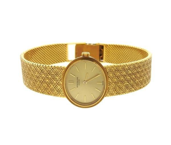 Patek Philippe 18k Gold Lady's Watch 3349
