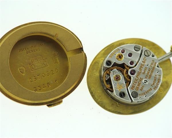 Patek Philippe 18k Gold Lady's Watch 3349 - 5