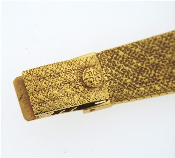 Patek Philippe 18k Gold Lady's Watch 3349 - 6