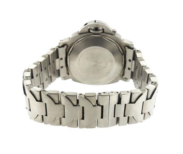 Panerai Luminor Marina Black Dial Steel Watch PAM120 - 2