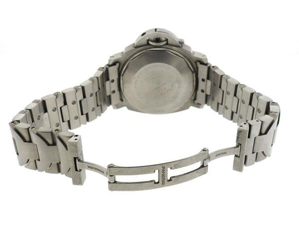 Panerai Luminor Marina Black Dial Steel Watch PAM120 - 4