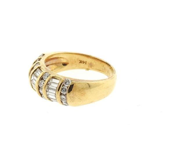 14k Gold 2.00ctw Diamond Ring - 3