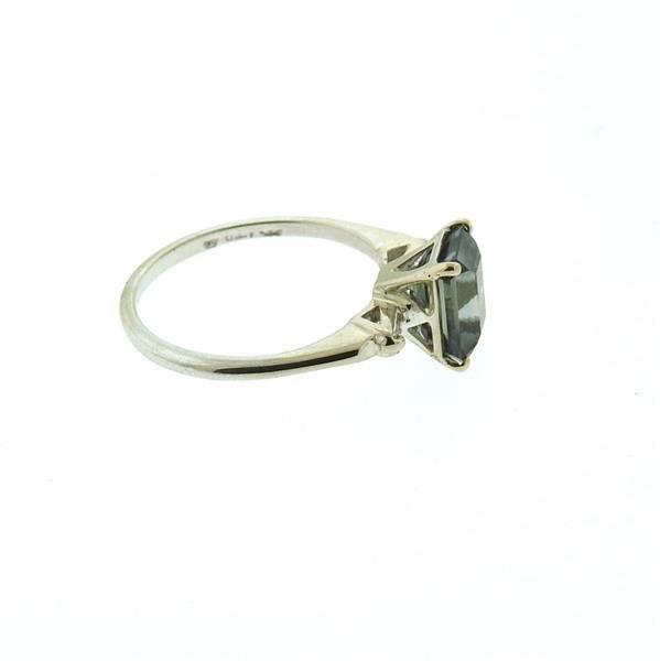 14k Gold 2.53ct Violet Sapphire Diamond Ring - 3
