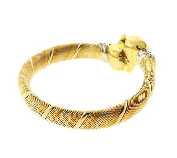 Cartier Panthere 18k Gold Diamond Bracelet - 5