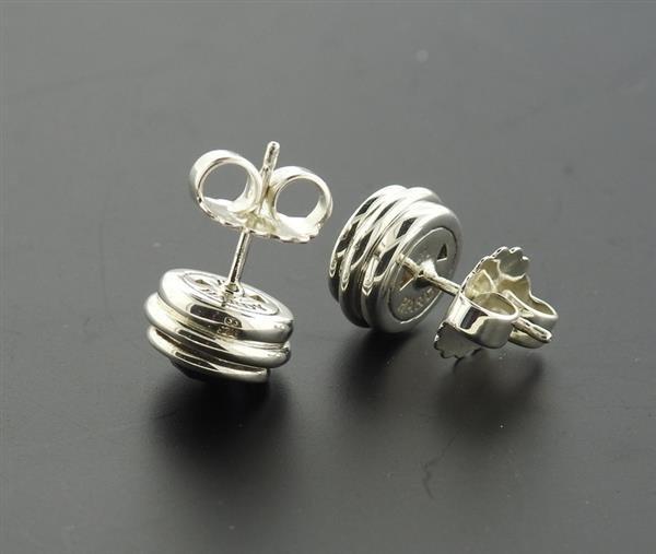 John Hardy Bedeg Batu Sterling Amethyst Stud Earrings - 2