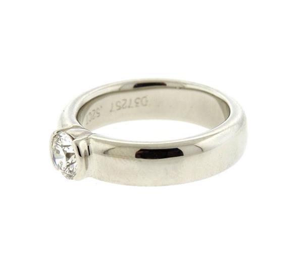 Tiffany & Co Platinum 0.52ct VS1 H Engagement Ring - 2