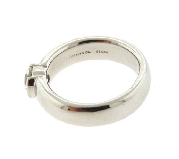 Tiffany & Co Platinum 0.52ct VS1 H Engagement Ring - 3