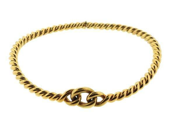 Weingrill 18k Gold Knot Necklace - 2