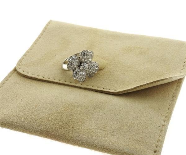 Van Cleef & Arpels VCA Cosmos 18K Gold Diamond Ring - 4