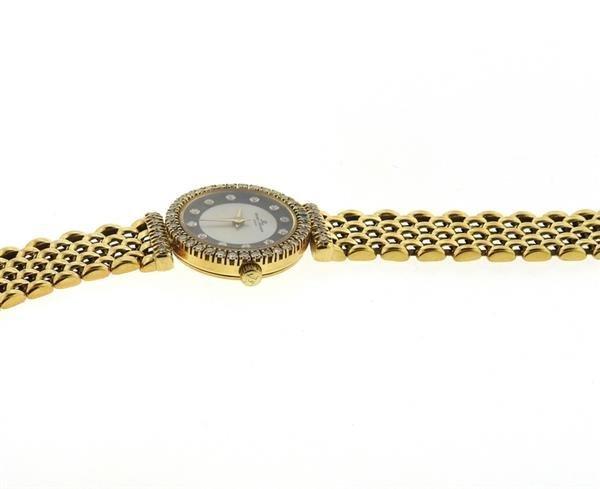 Baume & Mercier 18k Gold MOP Diamond Lady's - 4