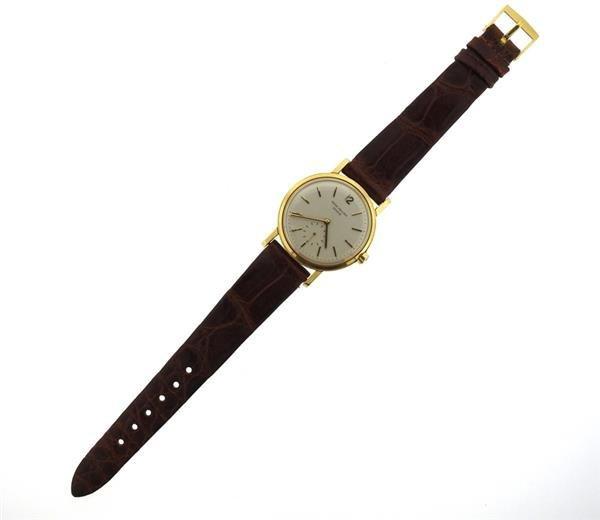 Patek Philippe 18k Gold Watch ref 3435