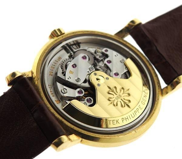 Patek Philippe 18k Gold Watch ref 3435 - 8